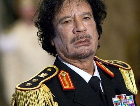 Moamer-Gadafi