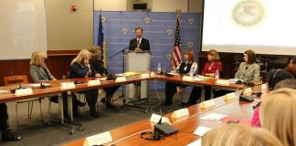 Ambassador Moon at the Round Table Discussion