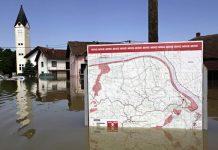 Landmine map in Sapna