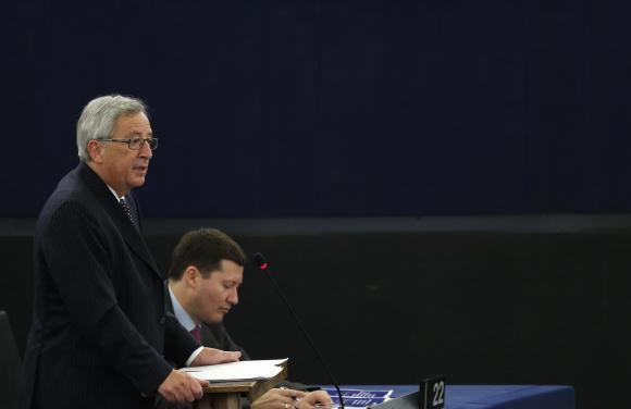 Juncker at EU