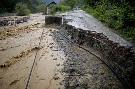 Bosnia floods August 2014